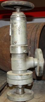 Клапан угловой запорно-регулирующий, АК 28087